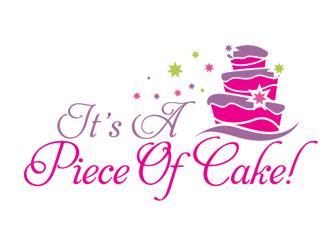 It S A Piece Of Cake Logo Design Freelancelogodesign Com