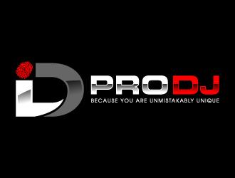 ID Pro DJ logo design - Freelancelogodesign.com