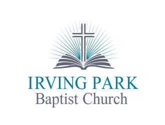 Irving Park Baptist Church logo design - Freelancelogodesign.com