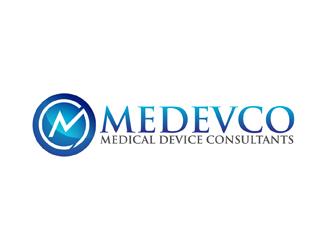 Medevco medical device consultants logo design for Medical design consultancy