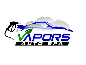 Vapors Auto Spa Logo Design Freelancelogodesign Com