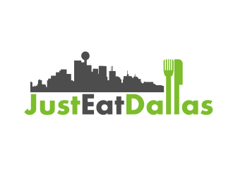 Just Eat Dallas logo design concepts #3