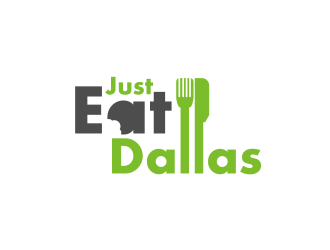 Just Eat Dallas logo design concepts #4