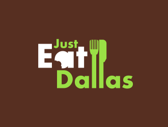 Just Eat Dallas logo design concepts #5