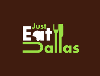 Just Eat Dallas logo design concepts #6
