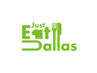 Just Eat Dallas logo design concepts #7