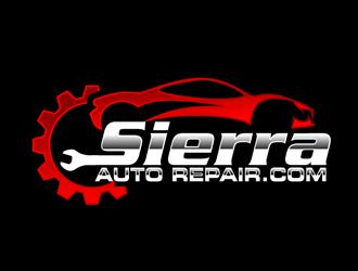 Sierra Auto Repair.com logo design - Freelancelogodesign.com