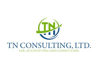 Tn consulting ltd logo design for Design consultants limited