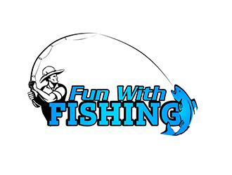 Fun With Fishing Logo Design Freelancelogodesign Com