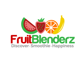 FruitBlenderz logo design concepts #4