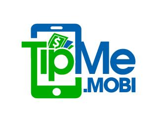 TipMe.mobi logo design by abss
