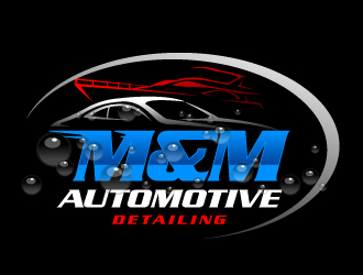 M&M Automotive Detailing Logo Design