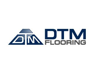 DTM Flooring logo design by manabendra110
