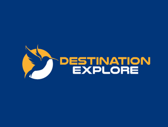 Destination Explore logo design