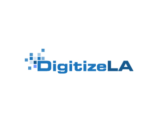 DigitizeLA logo design concepts #1