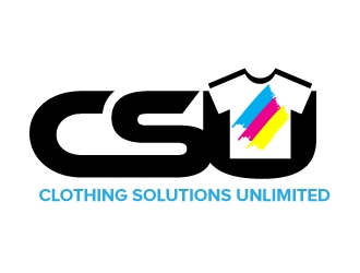 CSU (Clothing Solutions Unlimited) logo design