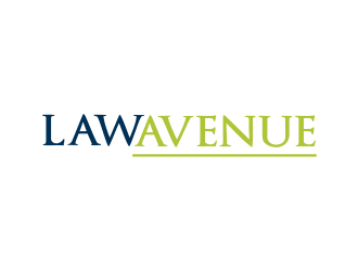 Law Avenue logo design