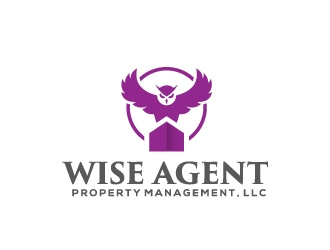 Wise Agent Property Management, LLC logo design concepts #5