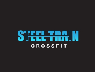 Steel Train CrossFit logo design concepts #16