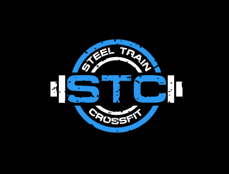 STC (Steel Train Crossfit) logo design concepts #12