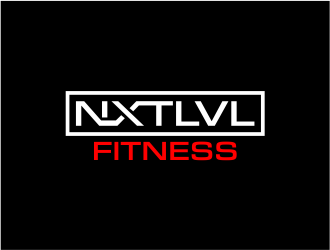 NXTLVL Fitness logo design concepts #3