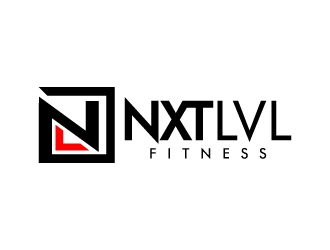 NXTLVL Fitness logo design concepts #5