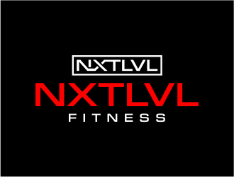 NXTLVL Fitness logo design concepts #7