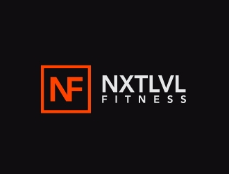 NXTLVL Fitness logo design concepts #14
