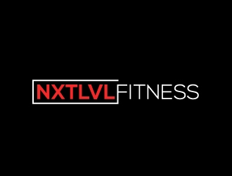 NXTLVL Fitness logo design concepts #23