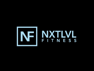 NXTLVL Fitness logo design concepts #1