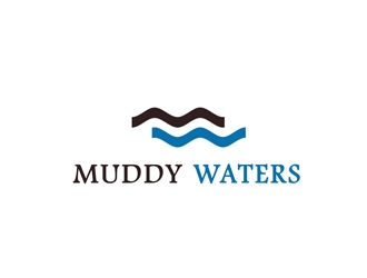 Muddy Waters logo design concepts #4