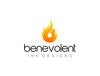 Benevolent Ink Designs logo design concepts #26