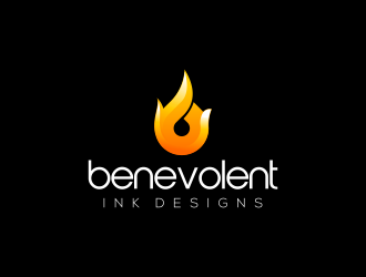 Benevolent Ink Designs logo design concepts #27