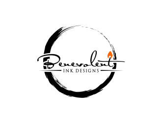 Benevolent Ink Designs logo design concepts #28