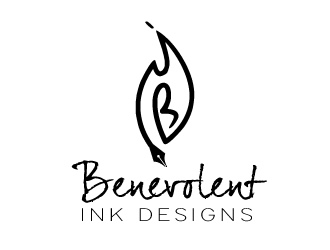 Benevolent Ink Designs logo design concepts #31