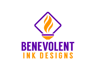 Benevolent Ink Designs logo design concepts #30