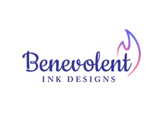Benevolent Ink Designs logo design concepts #32