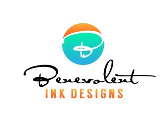 Benevolent Ink Designs logo design concepts #34