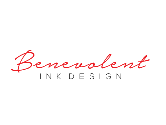 Benevolent Ink Designs logo design concepts #35