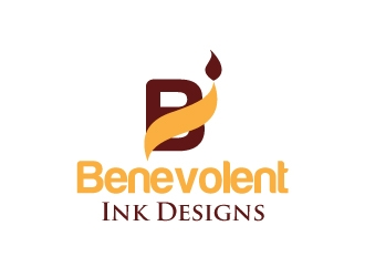Benevolent Ink Designs logo design concepts #45