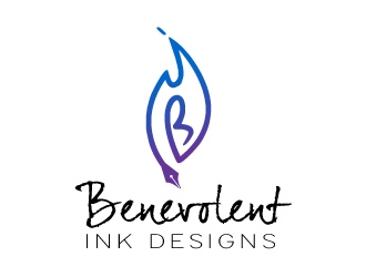 Benevolent Ink Designs logo design concepts #48