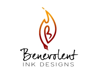 Benevolent Ink Designs logo design concepts #49