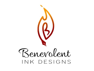 Benevolent Ink Designs logo design concepts #2