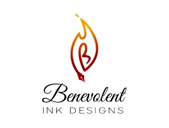 Benevolent Ink Designs logo design concepts #3