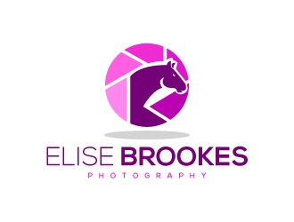 Elise Brookes Photography logo design concepts #7