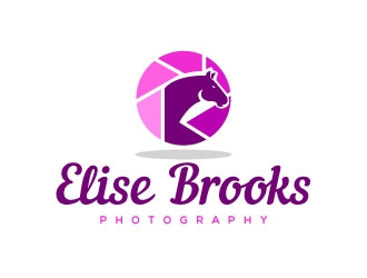 Elise Brookes Photography logo design concepts #8