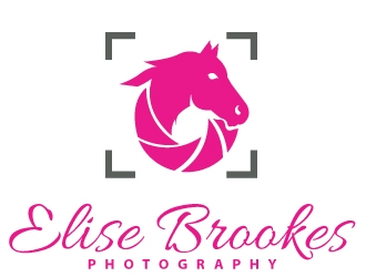 Elise Brookes Photography logo design concepts #9