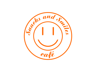 Snacks and Smiles Cafe logo design concepts #2