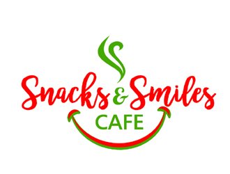 Snacks and Smiles Cafe logo design concepts #12