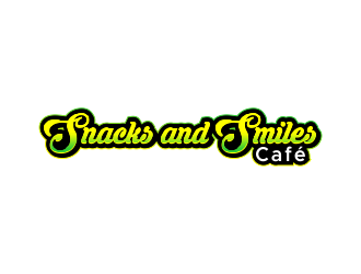 Snacks and Smiles Cafe logo design concepts #15